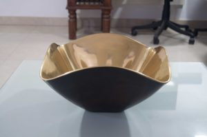 Cast Bronze Sink Flower Shaped