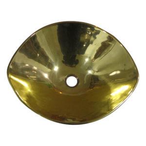 Cast Bronze Sink Yellow Bronze - Coppersmith Creations