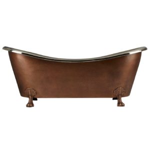 Clawfoot Design Copper Bathtub - Coppersmith Creations