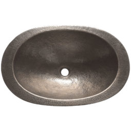 Copper Sink Oval Hammered Shape - Coppersmith Creations