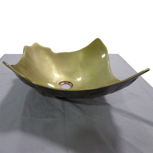Broken Earthen Vessel Style Sink - Coppersmith Creations