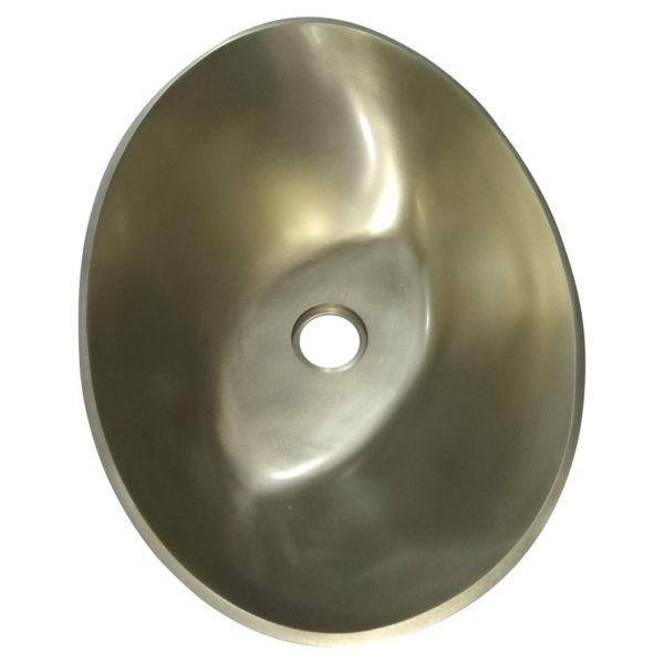 Cast Bronze Sink 16 inch Earthen Lamp Style