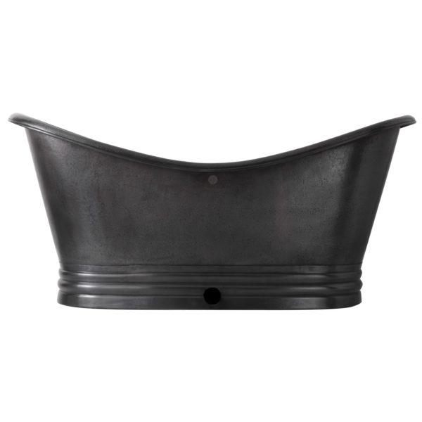 Hammered Dark Antique Copper Tub