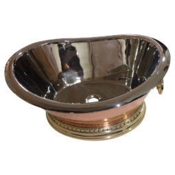 Beverage Tub Style Copper Sink - Coppersmith Creations