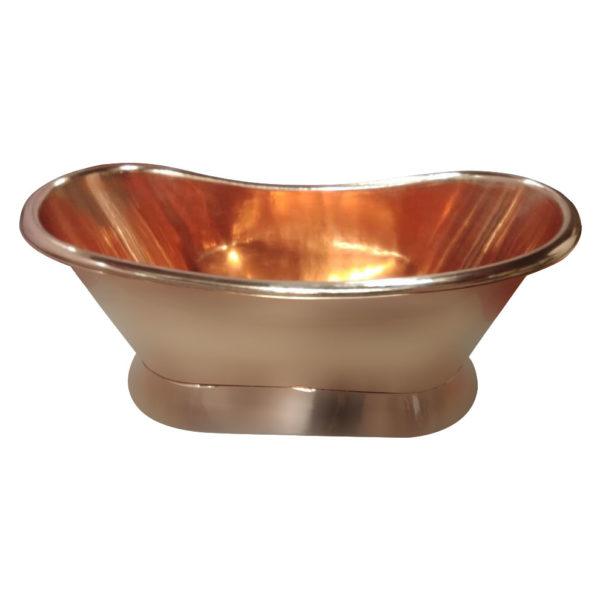 Copper Bathtub Full Shining Copper Finish