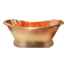 Copper Bathtub Full Shining Copper Finish