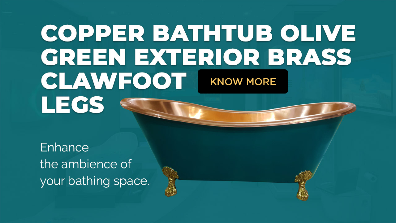 Olive Green Bathtub