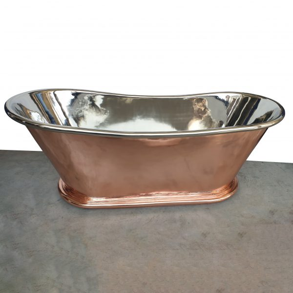 Copper Bathtub Nickel Inside Shining Copper Outside